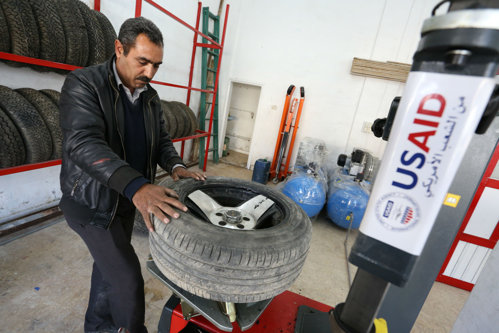 Small Business Answers Demand For Tire Services In
