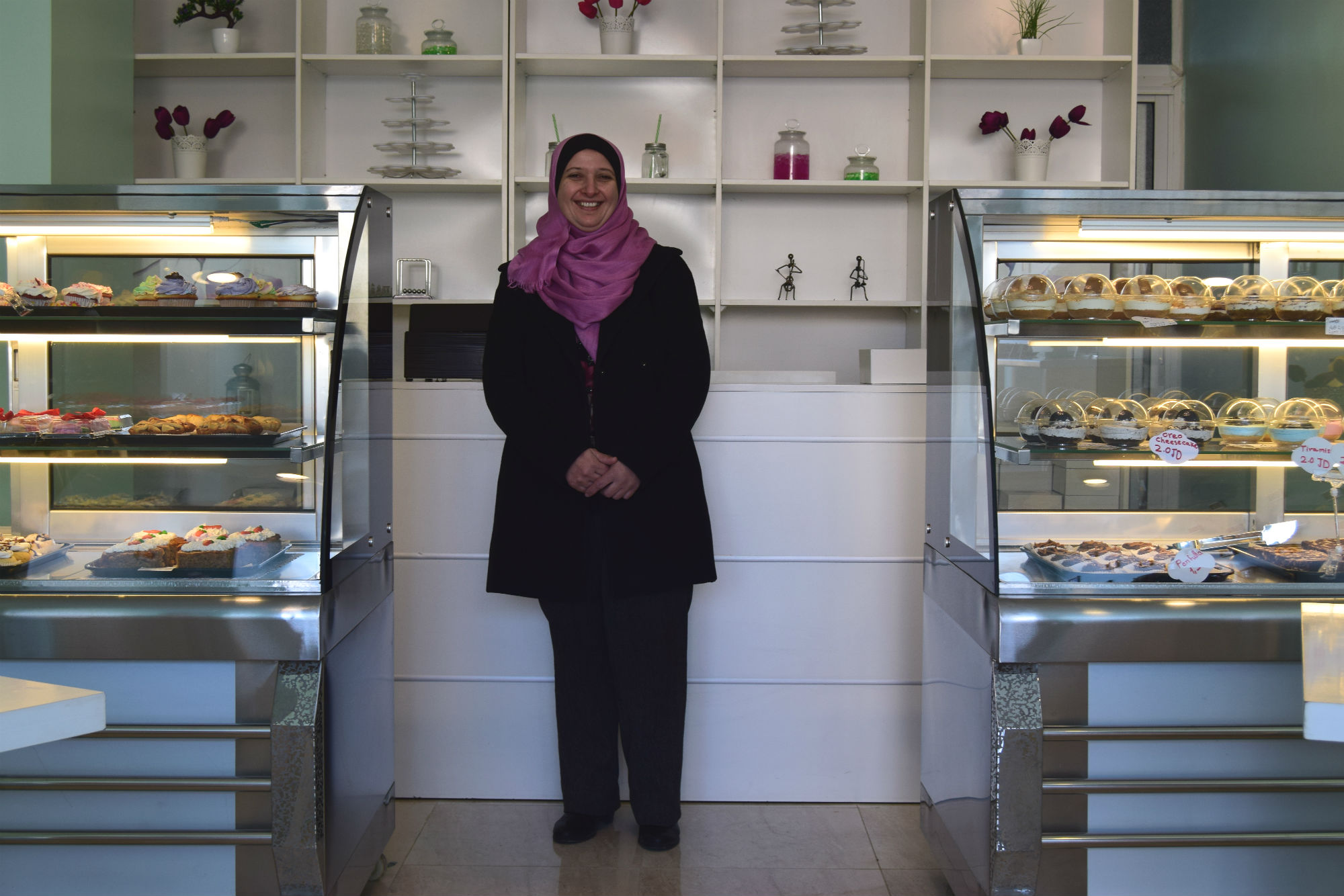 HomeBased Business Expands to Become Irbid's First WomanRun Specialty Bakery  USAID LENS